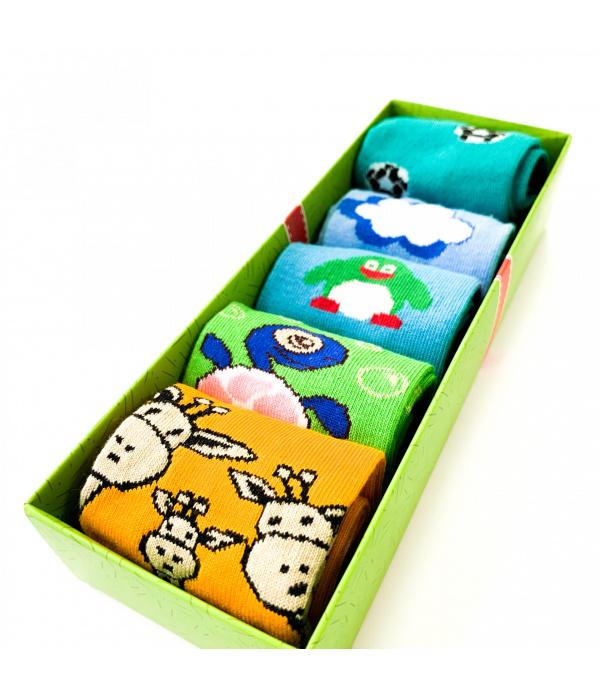 Детски машки чорапи во кутија - WOW